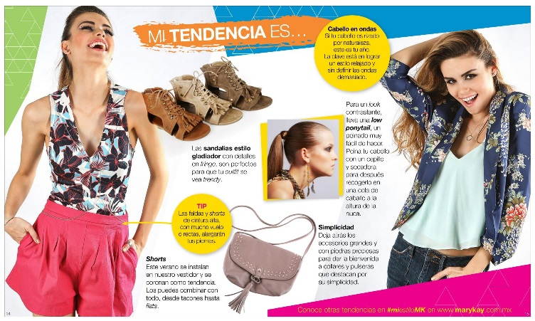 Tendencias de moda en Mary Kay