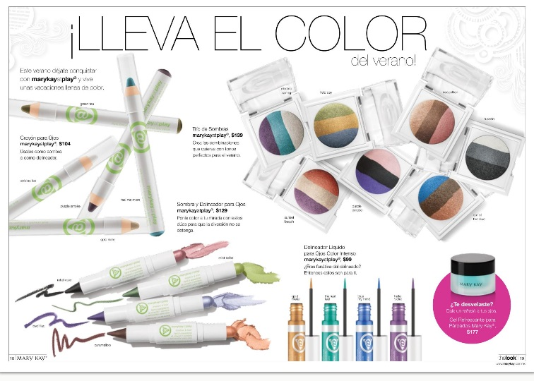 Sombras y delineadores en The Look