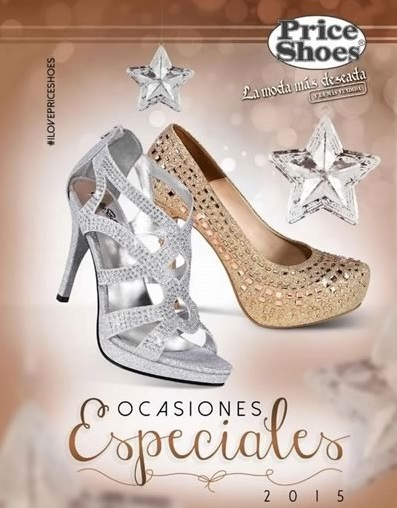 Catálogo Price Shoes Ocasiones Especiales 2015