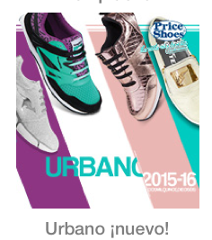 Catalogo Price Shoes urbano