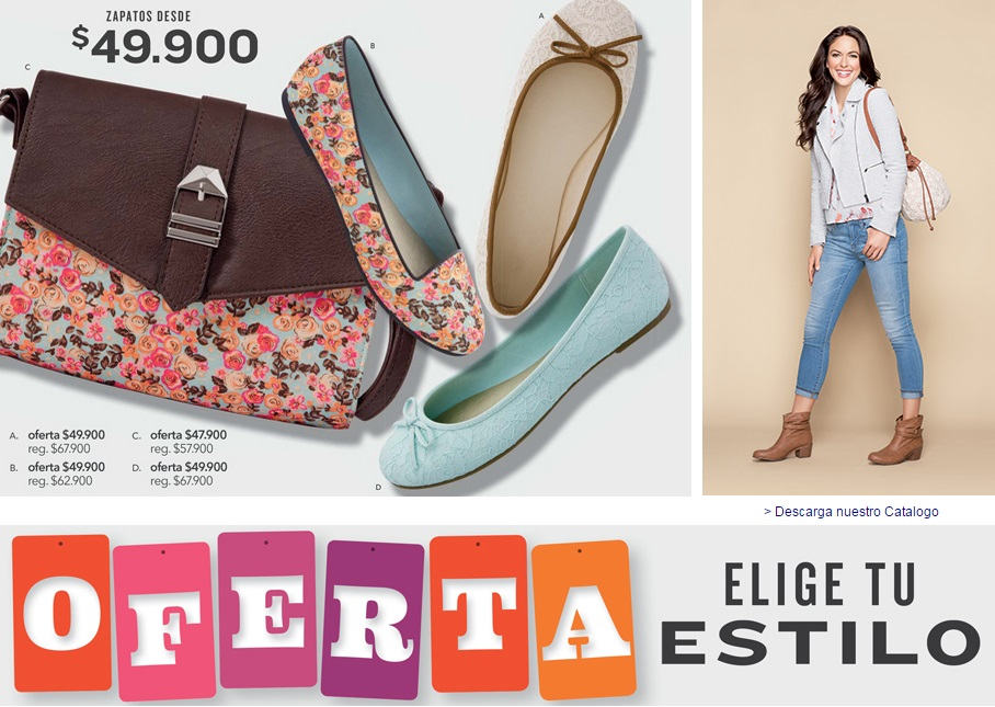 Elige tu estilo en Payless Shoes