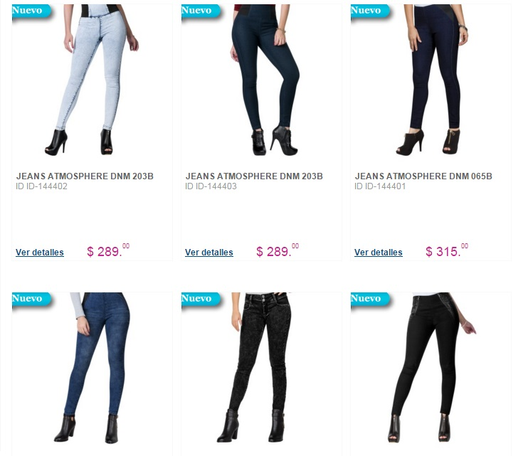 Ofertas exclusivas en Jeans Price Shoes