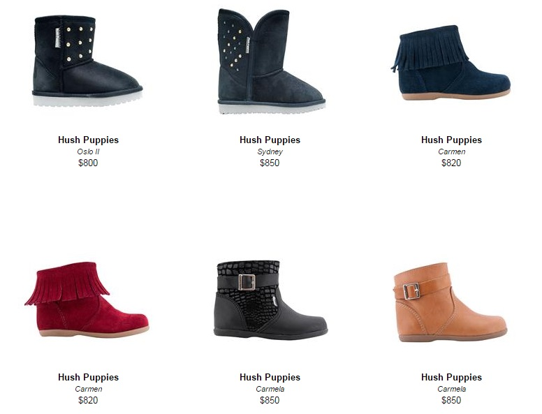 Botas y botines Hush Puppies