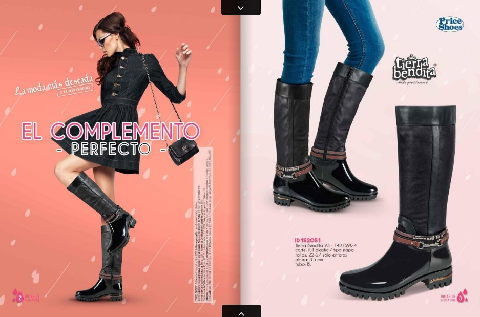 Botas de lluvia Price Shoes 2016