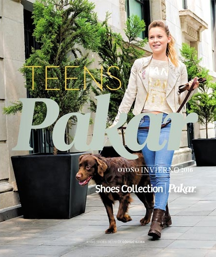 Catálogo Teens Shoes Collection Pakar 2016