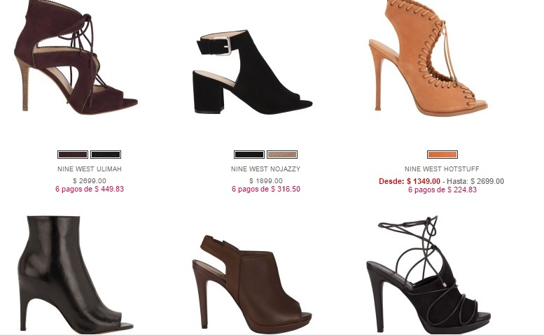 Botines de Otoño en Nine West 2016