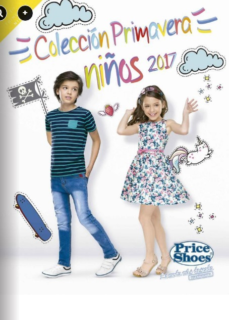Catalogo Price Shoes Kids Primavera 2017