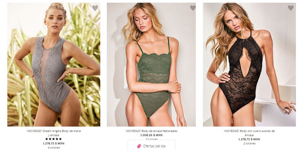 Catalogo de Lenceria y Ropa Interior Victoria Secret