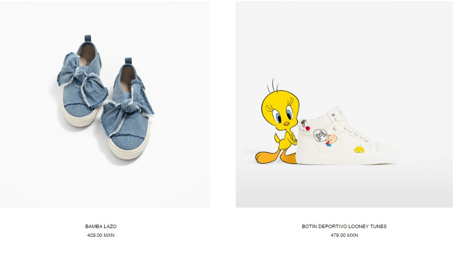 Zapatos Zara Kids 2017