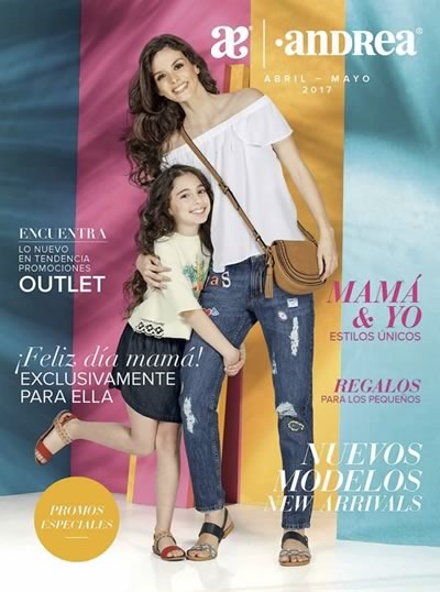 Catalogo Andrea Outlet Abril Mayo 2017