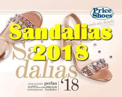 Price Shoes Sandalias - Catálogo 2018