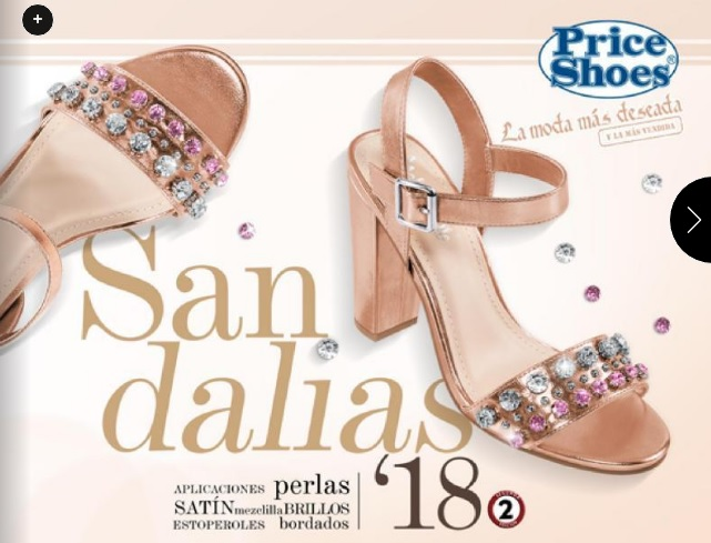 Catálogo Price Shoes Sandalias 2018